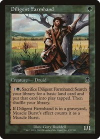 Diligent Farmhand, Magic: The Gathering, Odyssey