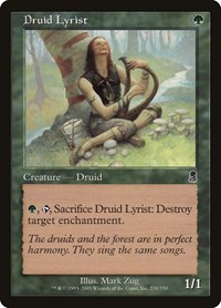 Druid Lyrist, Magic: The Gathering, Odyssey