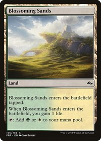 Blossoming Sands, Magic: The Gathering, Fate Reforged