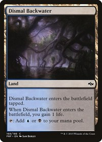 Dismal Backwater, Magic: The Gathering, Fate Reforged