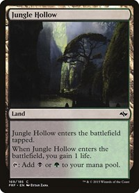 Jungle Hollow, Magic: The Gathering, Fate Reforged