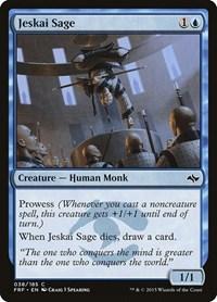 Jeskai Sage, Magic: The Gathering, Fate Reforged