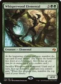 Whisperwood Elemental, Magic: The Gathering, Fate Reforged