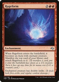 Rageform, Magic: The Gathering, Fate Reforged