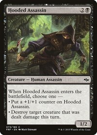 Hooded Assassin, Magic: The Gathering, Fate Reforged