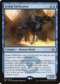 Jeskai Infiltrator, Magic: The Gathering, Fate Reforged