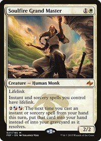 Soulfire Grand Master, Magic: The Gathering, Fate Reforged