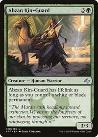 Abzan Kin-Guard, Magic: The Gathering, Fate Reforged