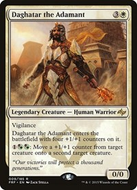 Daghatar the Adamant, Magic: The Gathering, Fate Reforged