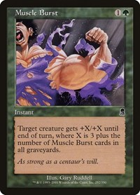 Muscle Burst, Magic: The Gathering, Odyssey
