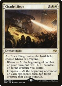 Citadel Siege, Magic: The Gathering, Fate Reforged