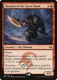 Shaman of the Great Hunt, Magic, Fate Reforged