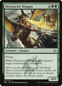 Destructor Dragon, Magic: The Gathering, Fate Reforged