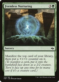 Formless Nurturing, Magic: The Gathering, Fate Reforged
