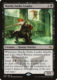 Mardu Strike Leader, Magic, Fate Reforged