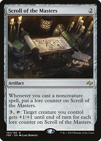Scroll of the Masters, Magic: The Gathering, Fate Reforged