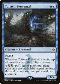 Torrent Elemental, Magic: The Gathering, Fate Reforged