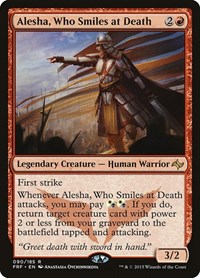 Alesha, Who Smiles at Death, Magic, Fate Reforged