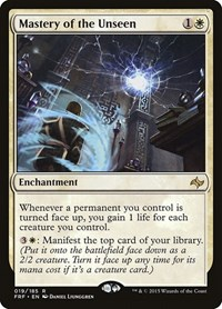 Mastery of the Unseen, Magic: The Gathering, Fate Reforged