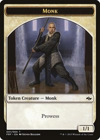 Monk Token, Magic: The Gathering, Fate Reforged