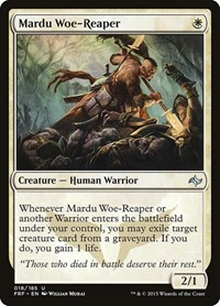 Mardu Woe-Reaper, Magic: The Gathering, Fate Reforged