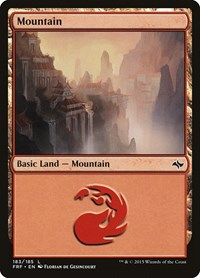 Mountain (183), Magic: The Gathering, Fate Reforged