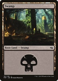 Swamp (181), Magic: The Gathering, Fate Reforged