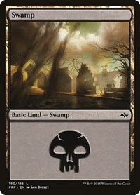 Swamp (180), Magic: The Gathering, Fate Reforged