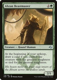 Abzan Beastmaster, Magic: The Gathering, Fate Reforged
