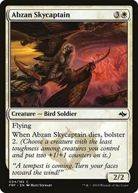Abzan Skycaptain, Magic: The Gathering, Fate Reforged