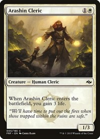 Arashin Cleric, Magic: The Gathering, Fate Reforged