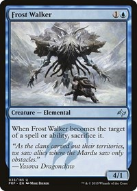 Frost Walker, Magic: The Gathering, Fate Reforged