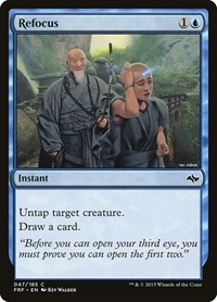 Refocus, Magic: The Gathering, Fate Reforged