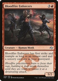 Bloodfire Enforcers, Magic, Fate Reforged