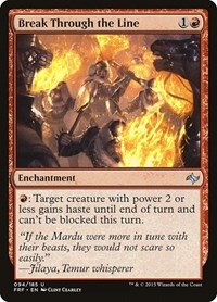 Break Through the Line, Magic: The Gathering, Fate Reforged