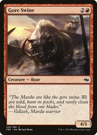 Gore Swine, Magic: The Gathering, Fate Reforged