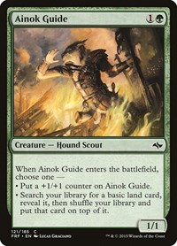 Ainok Guide, Magic: The Gathering, Fate Reforged