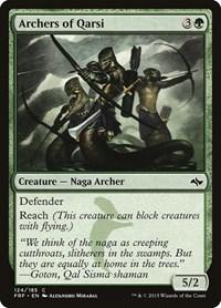 Archers of Qarsi, Magic: The Gathering, Fate Reforged