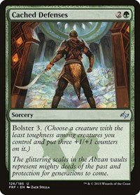 Cached Defenses, Magic: The Gathering, Fate Reforged