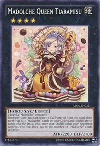 Madolche Queen Tiaramisu, YuGiOh, Astral Pack 6