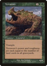 Terravore, Magic: The Gathering, Odyssey