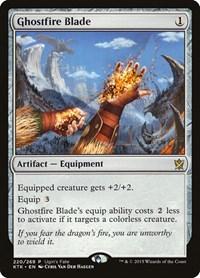 Ghostfire Blade, Magic, Ugin's Fate Promos