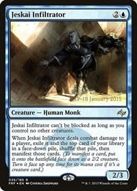 Jeskai Infiltrator, Magic: The Gathering, Prerelease Cards