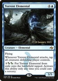 Torrent Elemental, Magic: The Gathering, Prerelease Cards