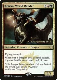 Atarka, World Render, Magic, Prerelease Cards