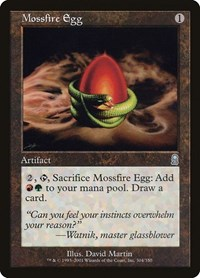 Mossfire Egg, Magic: The Gathering, Odyssey