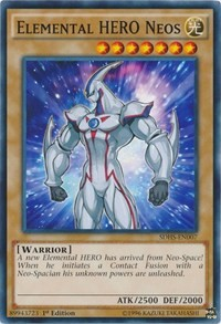 Elemental HERO Neos, YuGiOh, Structure Deck: HERO Strike