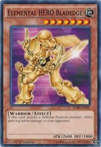 Elemental HERO Bladedge, YuGiOh, Structure Deck: HERO Strike