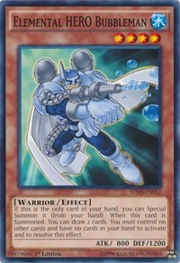 Elemental HERO Bubbleman, YuGiOh, Structure Deck: HERO Strike