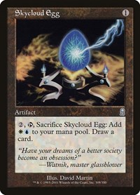 Skycloud Egg, Magic: The Gathering, Odyssey